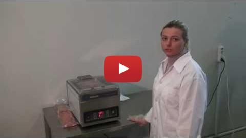 Embedded thumbnail for Вакуумный упаковщик Mini Jumbo упаковка мяса