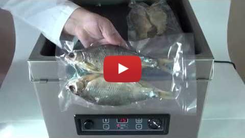 Embedded thumbnail for Вакуумная упаковка вяленой рыбы по 2 шт