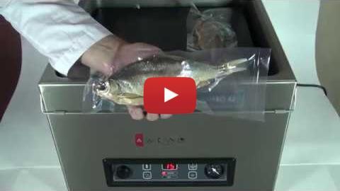 Embedded thumbnail for Вакуумная упаковка вяленой рыбы по 1 шт